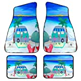 Airstream Camper Art Auto Car Floor Mat Sets