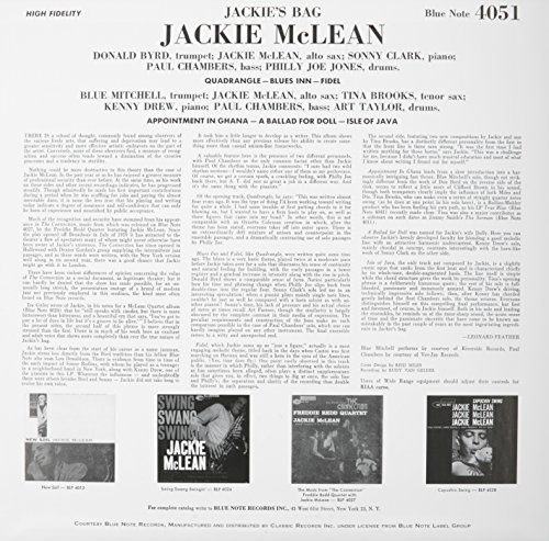 Jackie's Bag [Vinyl] by Classic Records (Image #1)