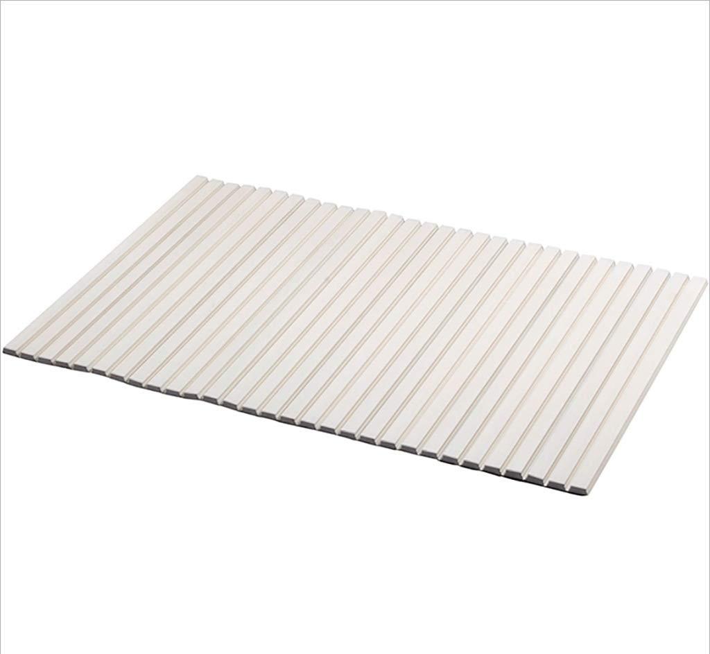 TubL Bathtub Stand, Plastic Folding Bath Cover/Bath Bathtub dustproof Shelf (Size : 75160cm)