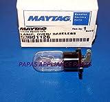 125v 20w appliance bulb - NEW OEM MAYTAG 53001128, R9900095 125 VOLT 20 WATT MICROWAVE BASELESS BULB __#papas_appliance_parts