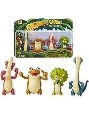 Gigantosaurus 98617-4L Karakter Figuren 4 Pack met gelede armen en staarten