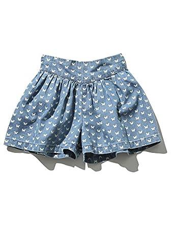M&Co - Falda - Skort - Animal Print - para bebé niña Azul azul ...