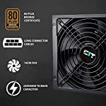 CiT-FX-Pro-600W-Power-Supply-No-Power-Cable-inc-Non-Modular-APFC-Japanese-Tk-Main-Capacitor-80-Plus-Bronze-88-Efficiency-14cm-Cooling-Fan-For-Pro-Gamers-Black