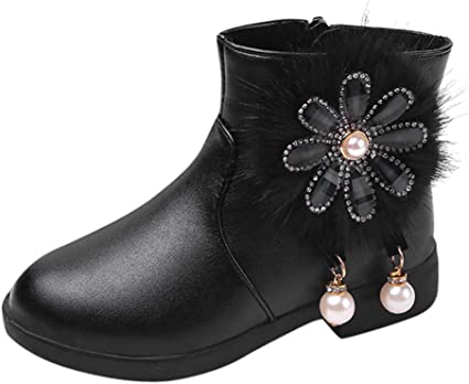 Baby Shoes Girls Boots Toddlers Kids
