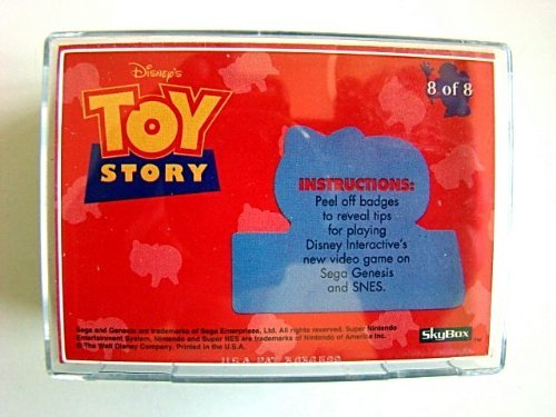 Toy Story Collectible Complete Trading Cards Huge Set Disney Pixar 1995 -  Skybox