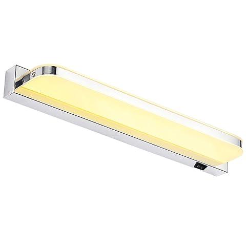 LED Lichter, Dailyart® 7W Warmweiß LED Spiegelleuchte Wandleuchte  Badezimmerlampe, EMC Antrieb,