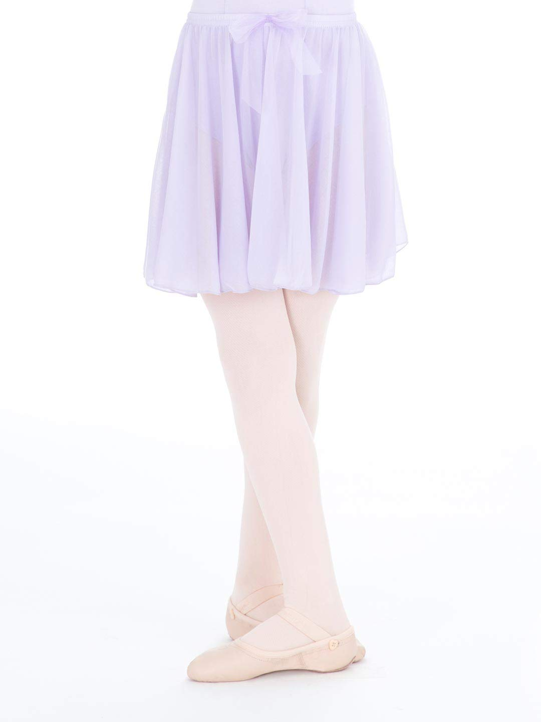 Capezio Little Girls' Children's Collection Circular Pull-On Skirt, Lavender, Small