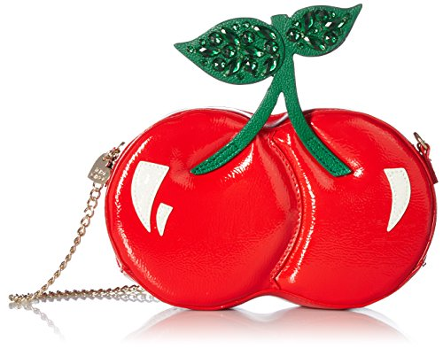 Betsey Johnson Tie the Knot Cherry Shoulder Bag