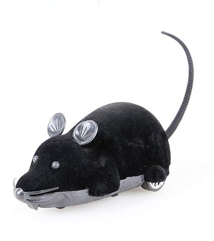 BABYSq Juguete De La Rata del Gato, Ratón De Simulación Flocado del Control