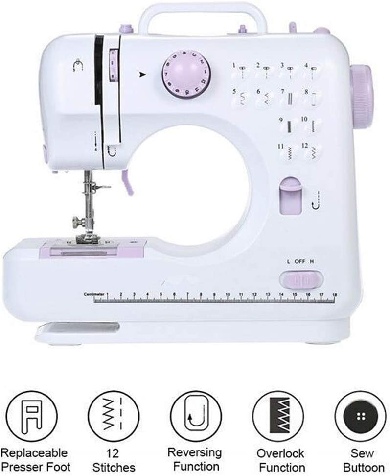 EEX Portable Full-Featured Electric Sewing Machine