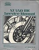 1984 YAMAHA MOTORCYCLE XZ 550 RK LIT-11616-XZ-55 SERVICE MANUAL (441)