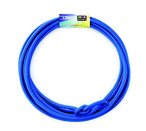 Just Jump It Lil Lariat- Junior Lasso- pre-tied-20' - Blue