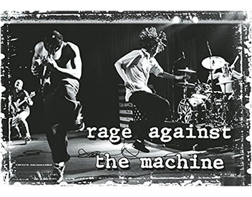 (NNG Rage Against The Machine - Jumpin - Textile Poster Flag)