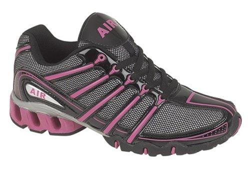 para mujer para Black negro T800 correr Dek Zapatos Fuchsia TxqaHwI
