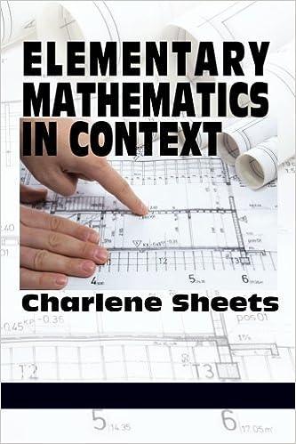 Book Elementary Mathematics in Context