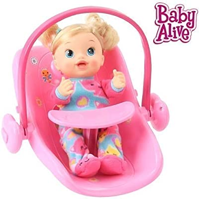 3997f08aa69 Amazon.com  Baby Alive Doll Car Seat  Toys   Games