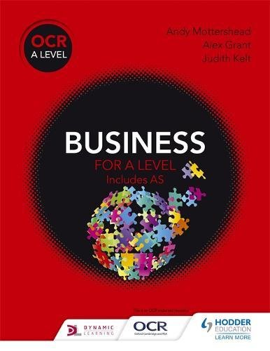 Book OCR Business for a Level PDF