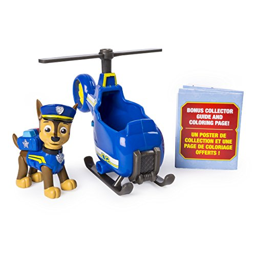 PAW Patrol Ultimate Rescue Chases Mini Helicopter with Collectible Figure, Ages 3 and Up