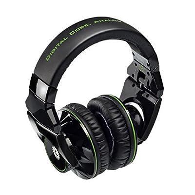 Hercules Hdp G501 Dj-adv Headphones - Black/green