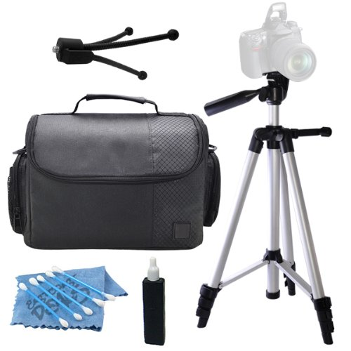 """Professional 57"""" Inch Tripod with Deluxe Camcorder Video C"""