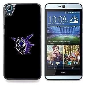 """Qstar Arte & diseño plástico duro Fundas Cover Cubre Hard Case Cover para HTC Desire 826 (Cloyster P0kemon"""")"""