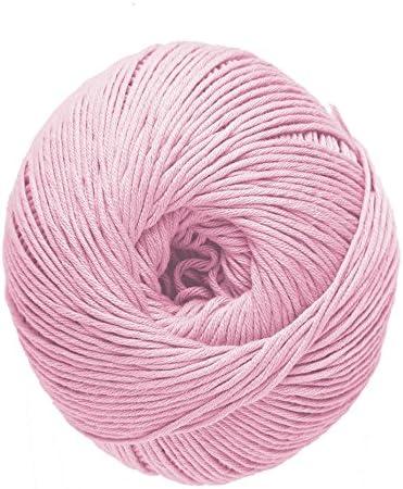 DMC Natura Hilo, 100% algodón, Rosa Soraya N32: Amazon.es: Hogar