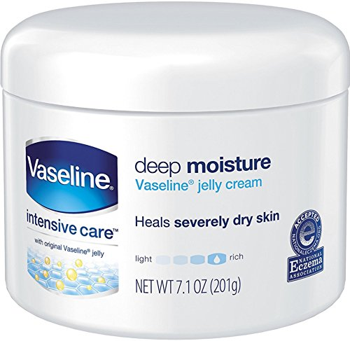 Vaseline Intensive Care Deep Moisture Jelly Cream 7.10 oz (3 Pack)