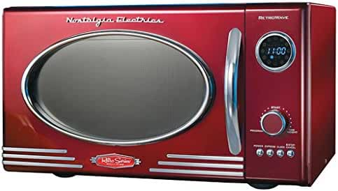 Adds a Nostalgic Touch to your Kitchen, Retro Microwave Oven, Dimensions: 19 inches long x 14 inches wide x 11 inches high
