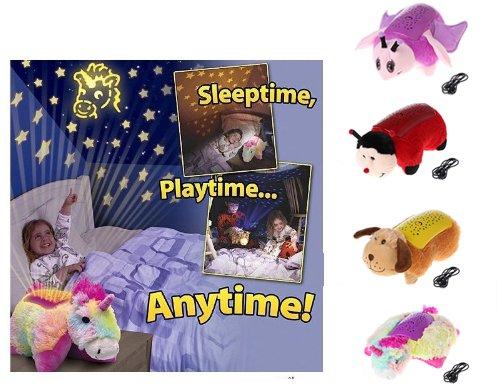 FangスカイLEDナイトライトスカイスターノベルティランプ子供おもちゃ照明Baby Sleep Light Dreamy Cuddleペット枕 イエロー  パピー B079GSN3CN