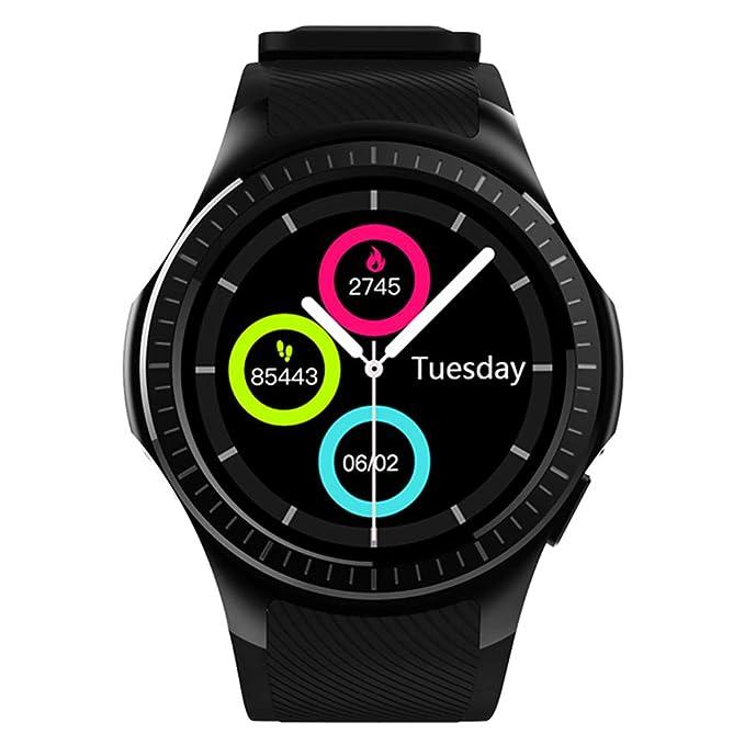 10 opinioni per Kivors Orologio Intelligente, L1 Bluetooth Smartwatch con Slot per Scheda