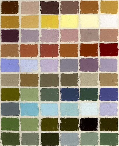Terry Ludwig Pastels- 60 Color Plein Air Landscape Set by Ludwig