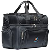Mojecto Large Cooler Bag -15x12x9 Inches.Two Insulated Compartments - Best Reviews Guide