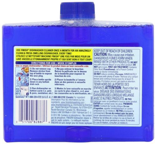 Finish Dishwasher Cleaner Dual Action Formula, Original, Pack of 2 by Finish (Image #1)