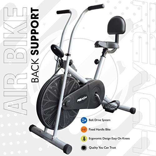 Reach Air Bike Exercise Home Gym Cycle | Best Cardio Fitness Machine for Weight Loss. Price & Reviews