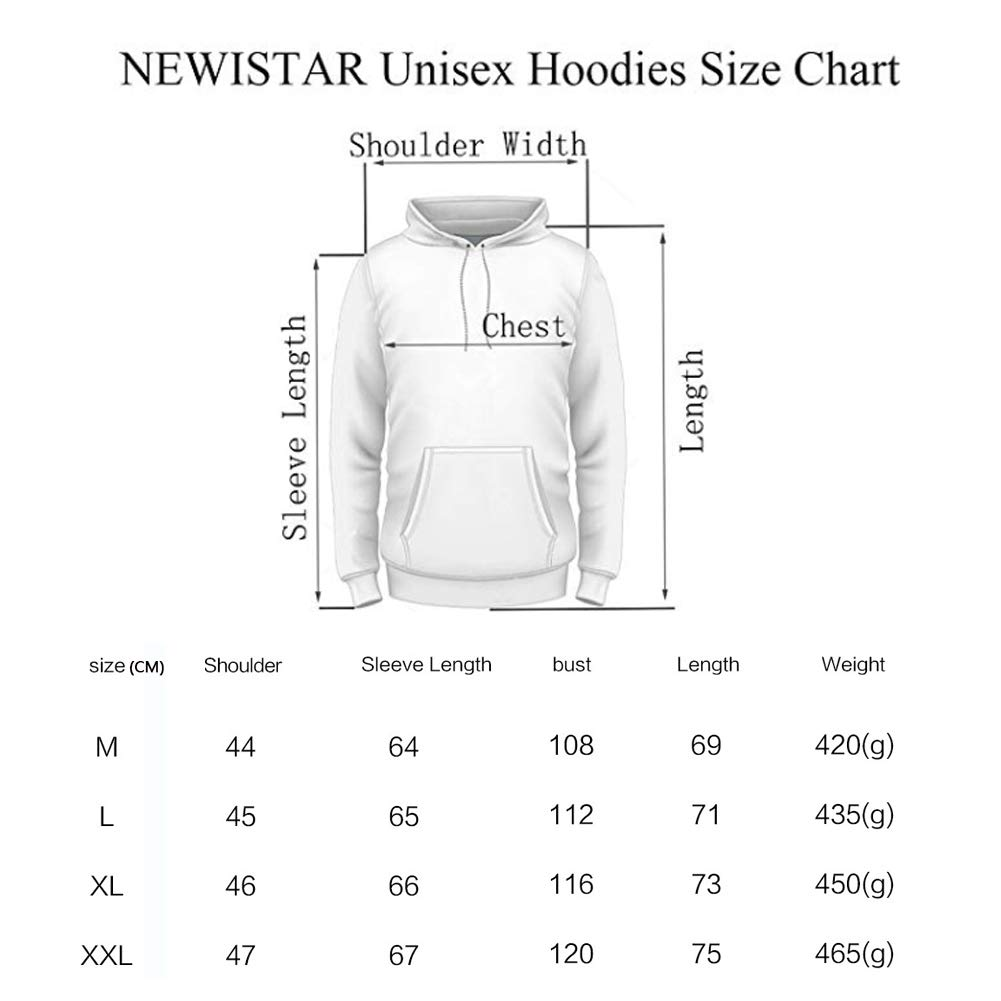 KRILY Unisex Halloween 3D Realistic Hoodies Animal Print Pullover Langarm-Jumpers Graphic Sweatshirt,M