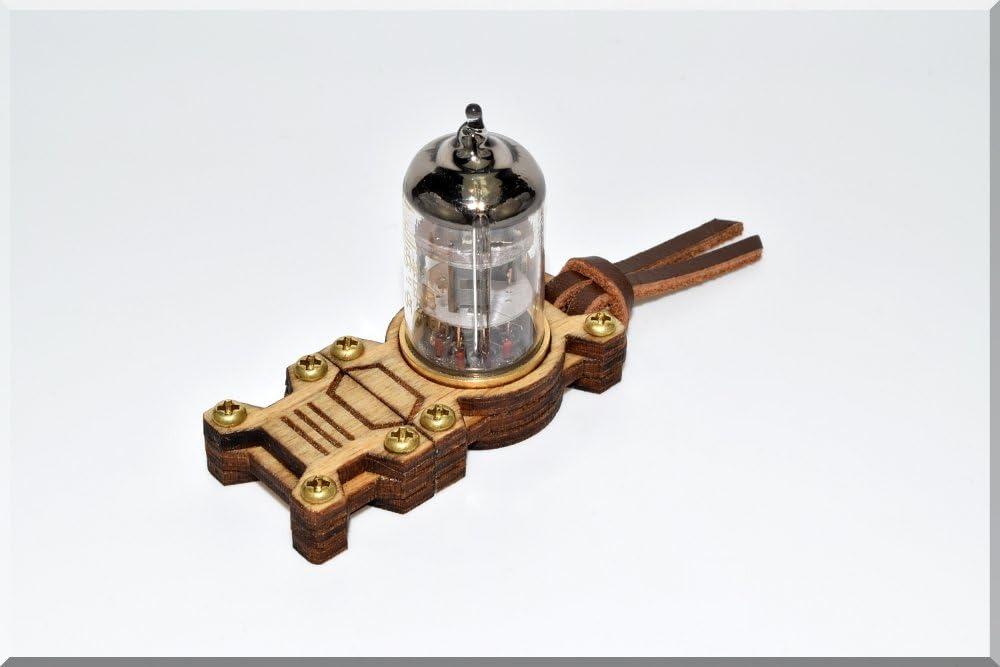 Steampunk//Industrial ART Vintage gadget. compatible with Ultra-slim devices Low-profile design Handmade 64GB USB 3.0 Baltic birch wood Orange Pentode Radio Electron Tube Flash drive