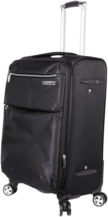 KM0086 KARMAS PRODUCT Fashion 3 Pieces Set Luggages Travel Bag 19.711.830.7inch Black Color