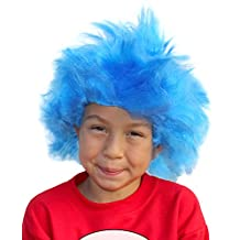 Troll Wig Afro Wigs For Kids or Adults Afro Wigs Clown Wigs Clown Wig Afro Wig