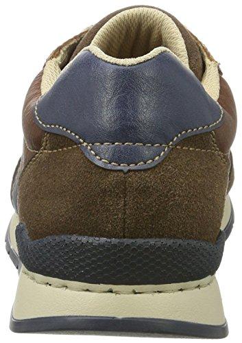 marrone Sneakers sigaro Rieker reale mandel basse uomo 19411 da S7gHwvq