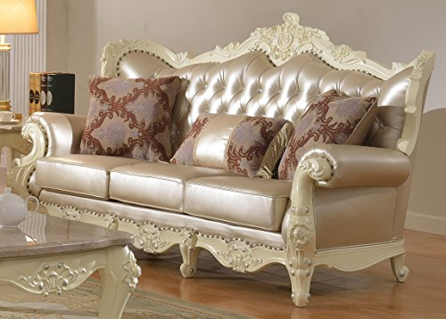 Meridian Furniture Madrid Leather Sofa
