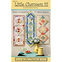 Anka's Treasures Pattern 266 Little Charmers III Quilted Table Runners or Wall Hangings