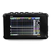 Signstek DSO203 ARM Pocket Portable Digital Oscilloscope Cortex M3 CPU 8M Hz Handheld Oscilloscope with Aluminum Black Case