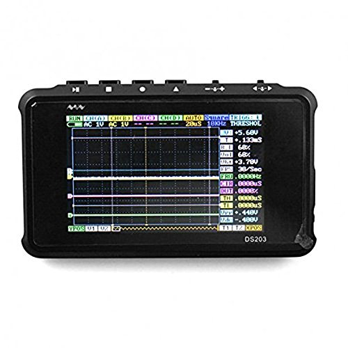 Signstek DSO203 ARM Pocket Portable Digital Oscilloscope ...