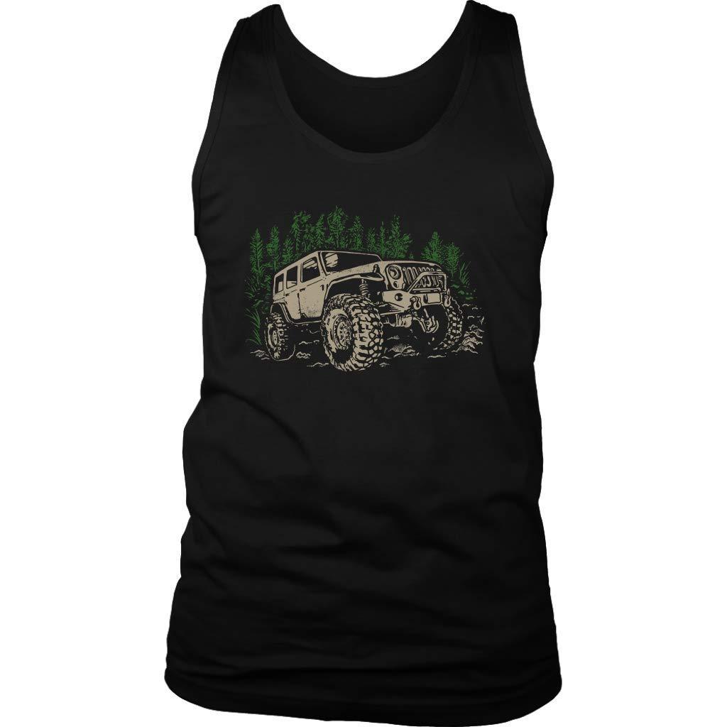 Off Road Wrangler 4x4 Rockcrawler Tank Top