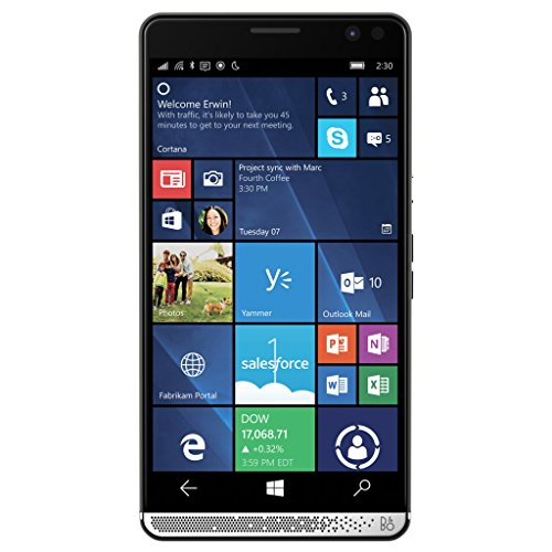 HP Elite X3 64GB eMMC Dual-SIM 4G/LTE Smartphone without Desk Dock (Graphite) - International Version