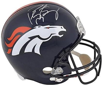 Peyton Manning Denver Broncos Autographed Full-Size Replica Helmet -  Fanatics Authentic Certified - Autographed 63162838b