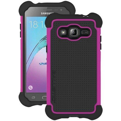 BALLISTIC Samsung Galaxy J3 Tough Jacket Case - PINK