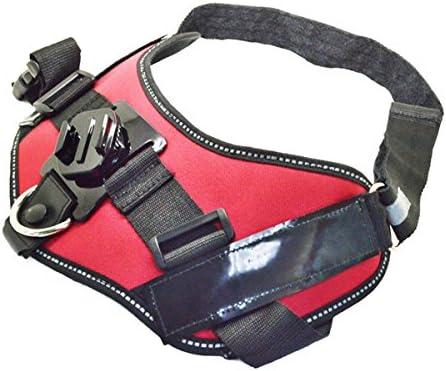MASUNN Bretella Regolabile Dog Cintura Pettorale 360-Grado Di Rotazione Per Gopro Sjcam Xiaomi Yi Action Camera