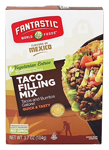 (FANTASTIC WORLD FOODS TACO FILLING MIX,S1279058, 4.4 OZ)