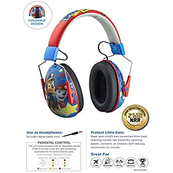 Amazon Com Paw Patrol Marshall Headphones For Kids With Built In